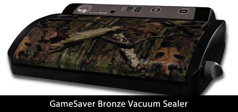 GameSaver Bronze Vacuum Sealer