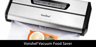 Vonshef Vacuum Food Saver Review
