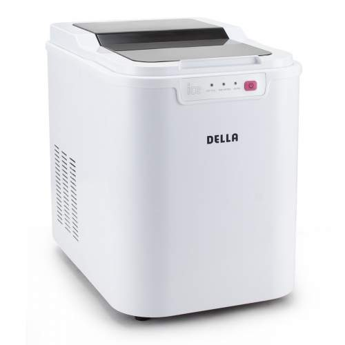 DELLA 048-GM-48224 Electric Icemaker, White and Small