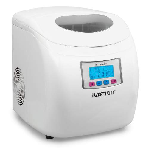 Ivation IVA-ICEM25WH Ice Maker