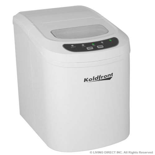 Koldfront Ultra Compact Portable Ice machine, White