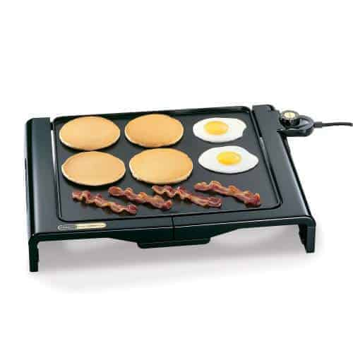 Presto 07050 Cool Touch Foldaway Griddle