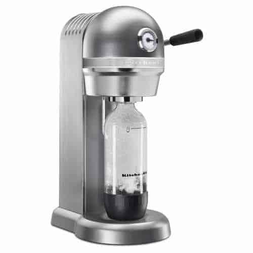 KitchenAid KSS1121CU Sparkling Beverage Maker, Silver