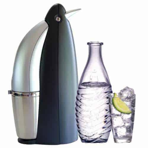 SodaStream Penguin Earth Friendly Glass Carafe Soda Maker