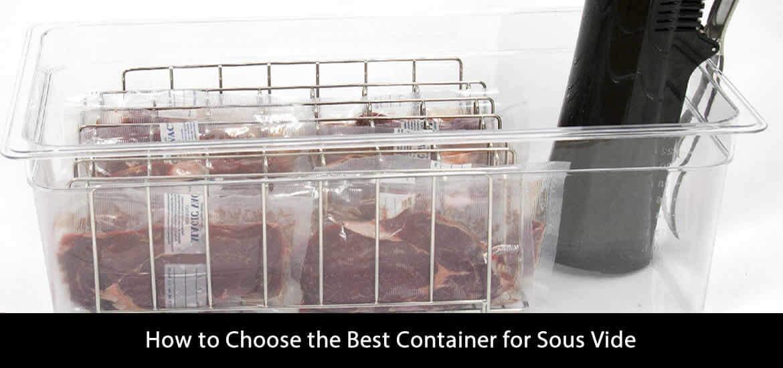 Best Container Sous Vide