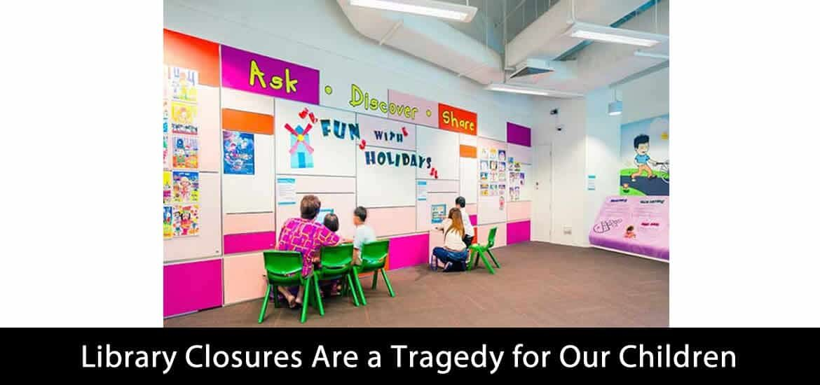 Library Closures Are a Tragedy for Our Children