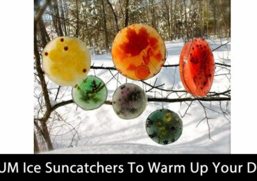 MUM  Ice Suncatchers To Warm Up Your Day