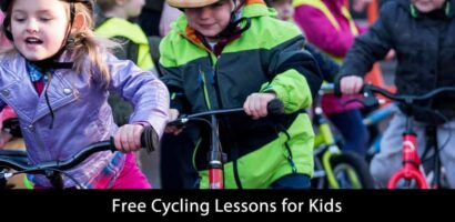 Free Cycling Lessons for Kids