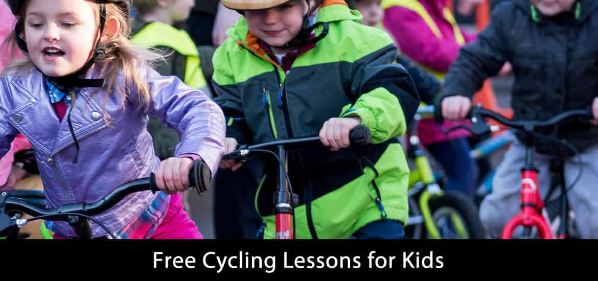 Cycling Lessons for Kids