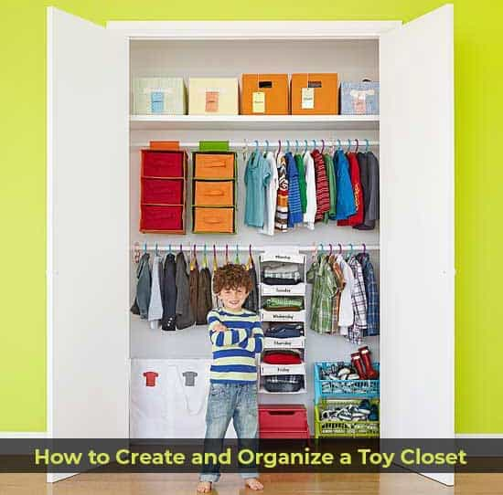 How to Create and Organize a Toy Closet