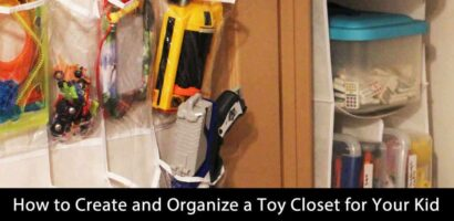 How to Create and Organize a Toy Closet for Your Kid