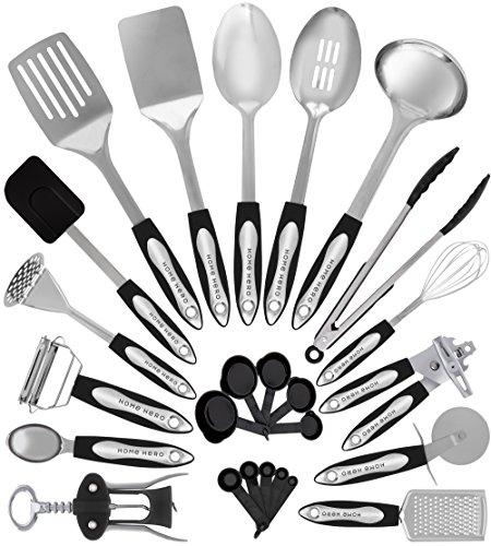 Zodaca premium 7-pieces kitchen cooking utensils set