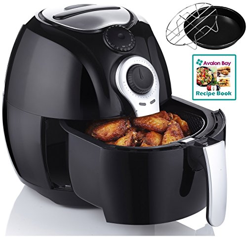 Avalon Bay AB-Airfryer100b Air Fryer in Black