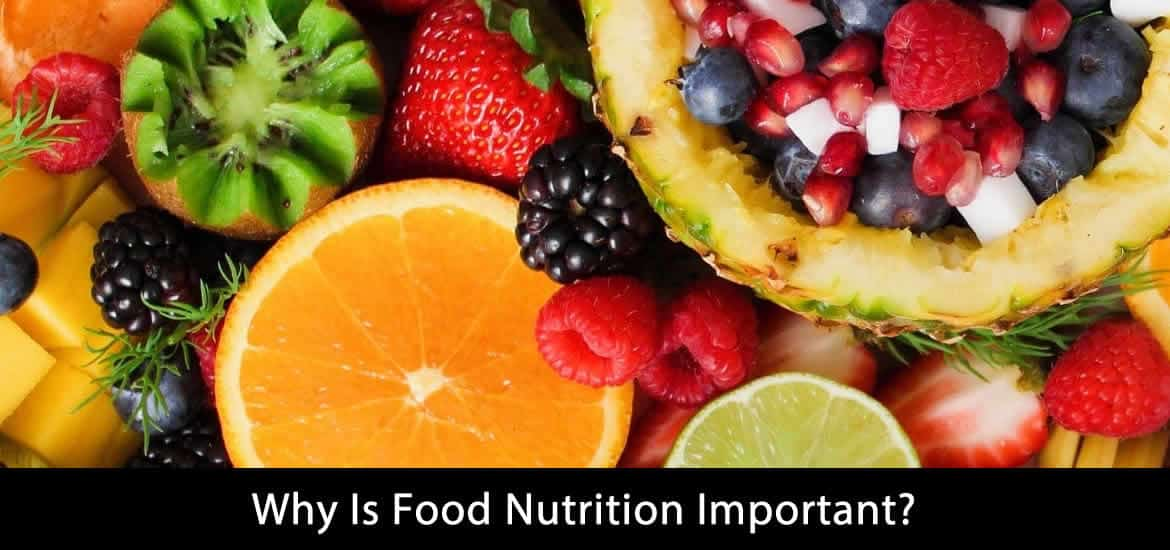 ood nutrition important