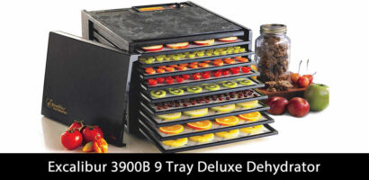 Excalibur 3900B 9 Tray Deluxe Dehydrator Review