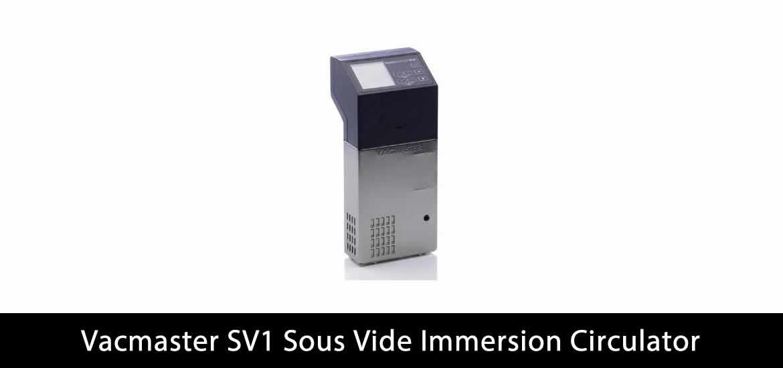 VacMaster SV1 Sous Vide Immersion Circulator