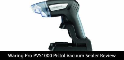 Waring Pro PVS1000 Pistol Vacuum Professional Vacuum Sealer SystemReview
