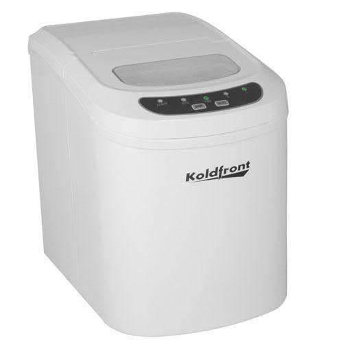 Koldfront Ultra Compact Portable Ice machine, White