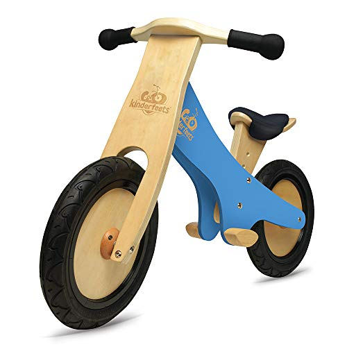 Kinderfeets Green Chalkboard Wooden Balance Bike