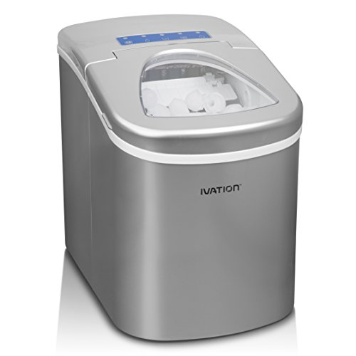 Ivation IVA-ICEM25WH Ice Maker