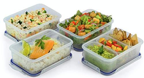 Popit Little-Big Box Food Plastic Container set