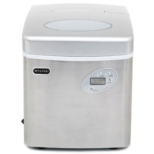 Whynter IMC-490SS Portable Ice-Making Machine 49 Pounds