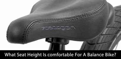 What Seat Height Is Comfortable For A Balance Bike?