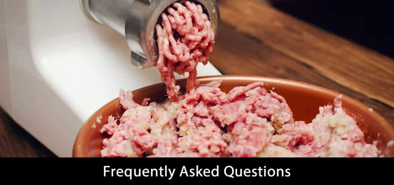 Best Meat Grinder For Bones FAQ