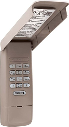 LiftMaster 877max Wireless Garage Door Opener Keyless Keypad