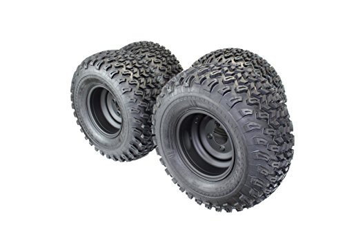 Matte Black Wheels for Golf Cart