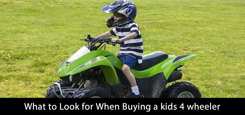 best kids electric 4 wheeler