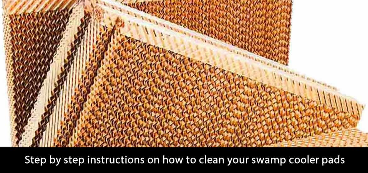 swamp cooler pads cleaning guide