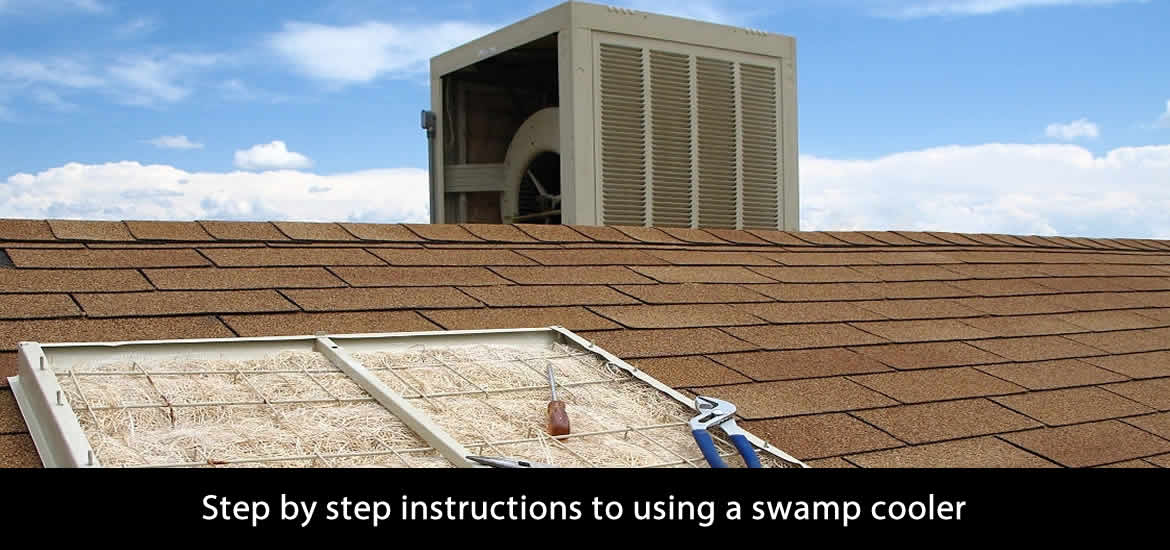 Step by step instructions to using a swamp cooler