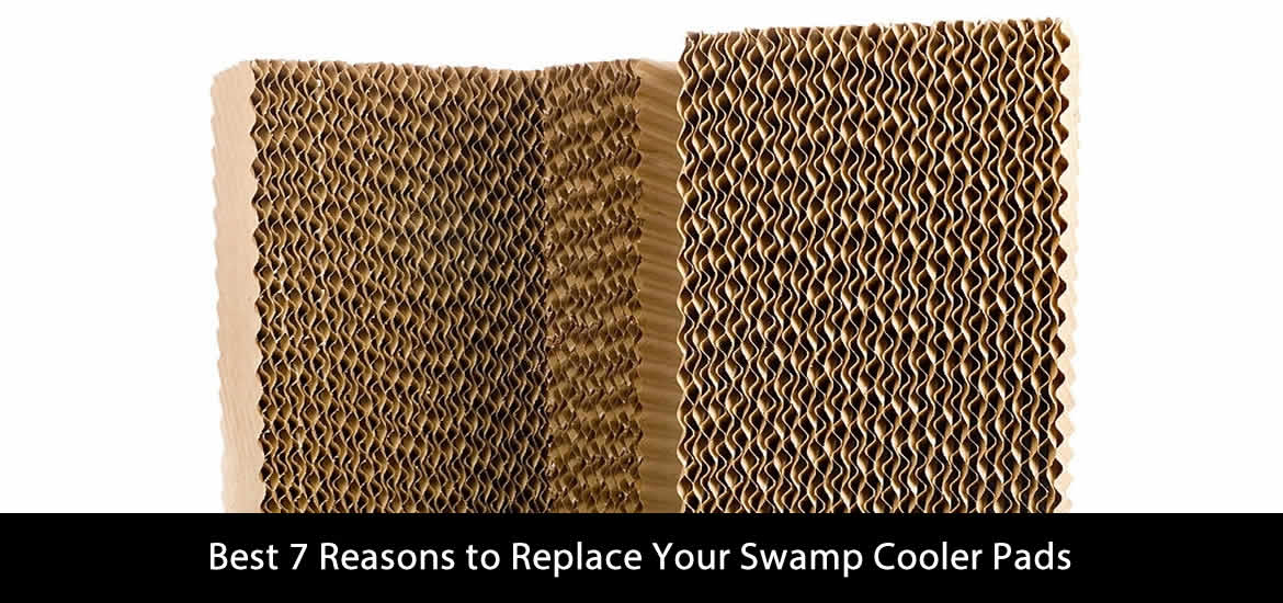 Best 7 Reasons to Replace Your Swamp Cooler Pads