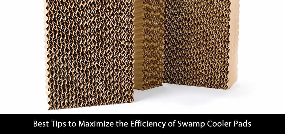 Best Tips to Maximize the Efficiency of Swamp Cooler Pads