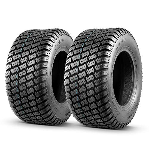Best Overall: MaxAuto 16x6.50-8 Lawn Mower Tire for Garden Tractors Ridings