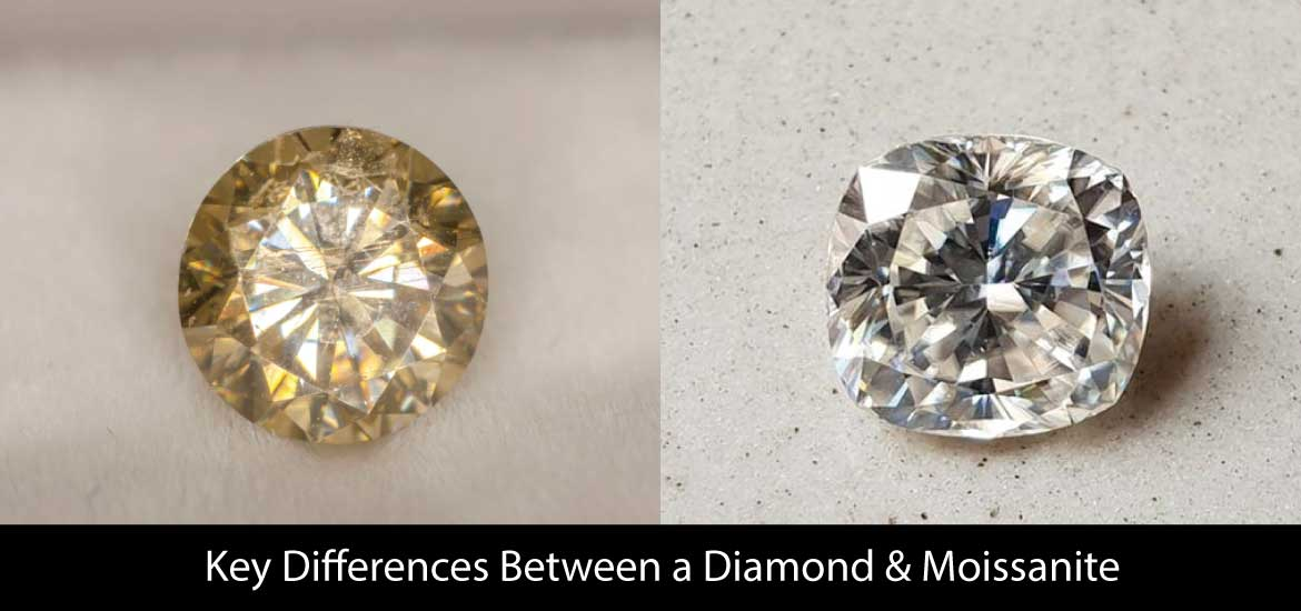 Key Differences Between a Diamond & Moissanite