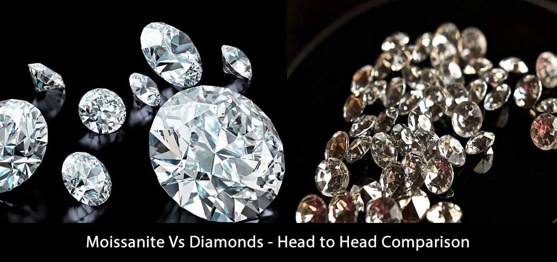 Moissanite Vs Diamonds - Head to Head Comparison