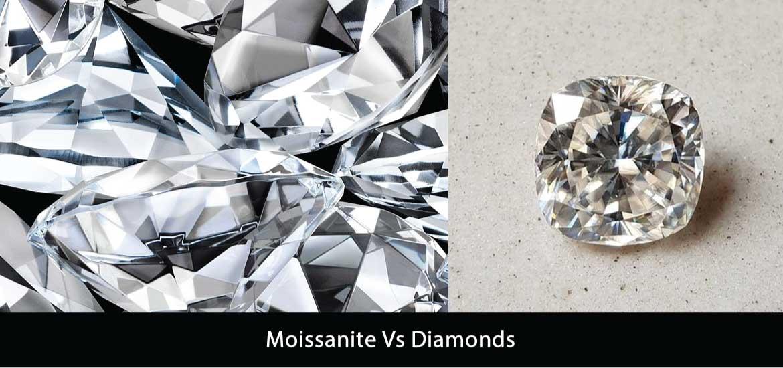 Moissanite Vs Diamonds
